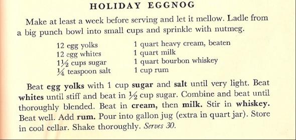old eggnog recipe
