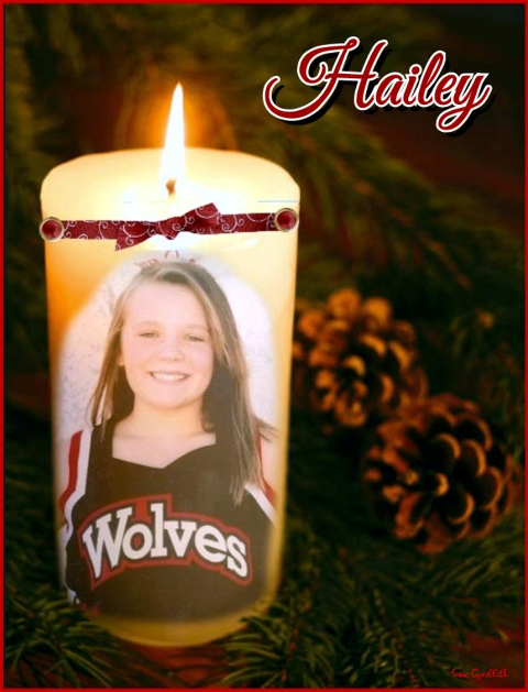 In their time of loss, let us  remember the family of Hailey Dunn in our thoughts.  Thank you.