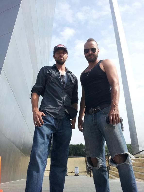Gary and Luke