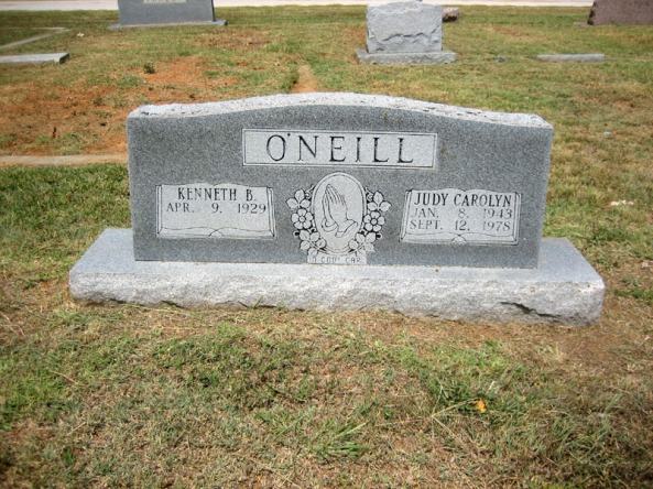 This is my stepmother's grave. My father was buried elsewhere